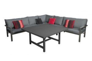 Beach 7 Lounge-Diningset Orchid XL