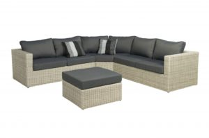 Beach 7 Loungeset Bogota Laguna Wicker 270x270 cm