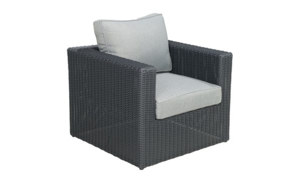 Beach 7 Bogota Loungechair Mystic Grey Wicker