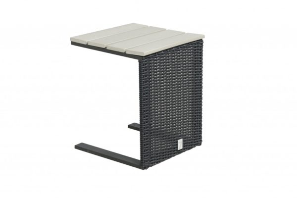 Laptoptable Bogota Mystic Grey wicker Beach7