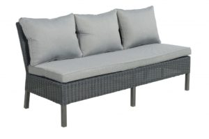 Beach 7 Tuinbank Cuba Mystic Grey Wicker