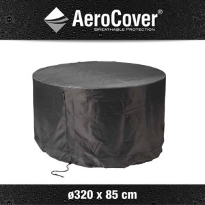 Aerocover tuinsethoes 320 cm rond 85 cm hoog