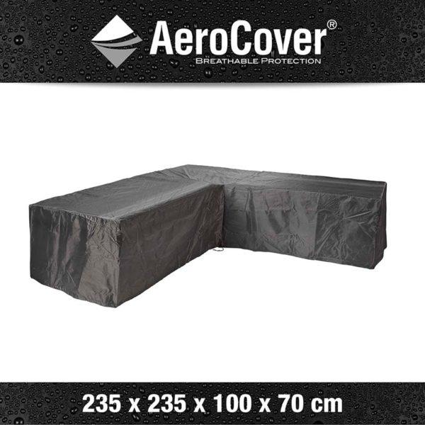 Aerocover Lounge sethoes l-shape 235x235x100x70 cm