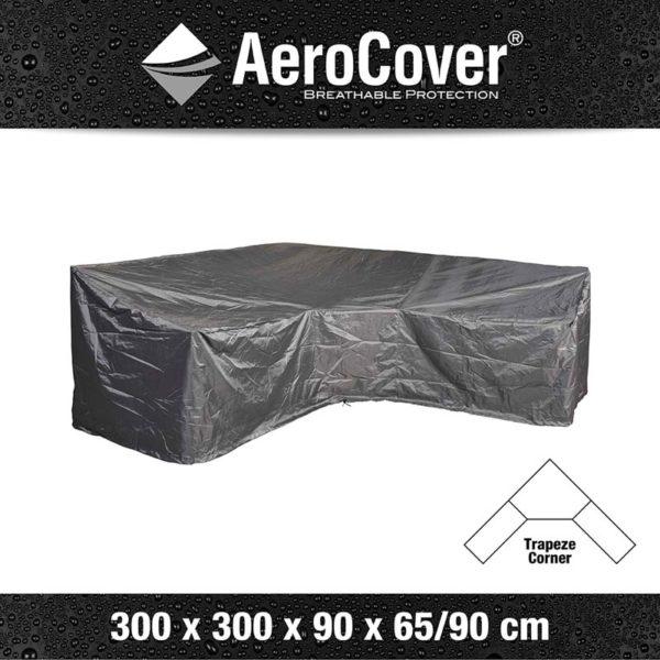Aerocover Lounge hoes l-shape Trapeze 300x300x100x70 cm