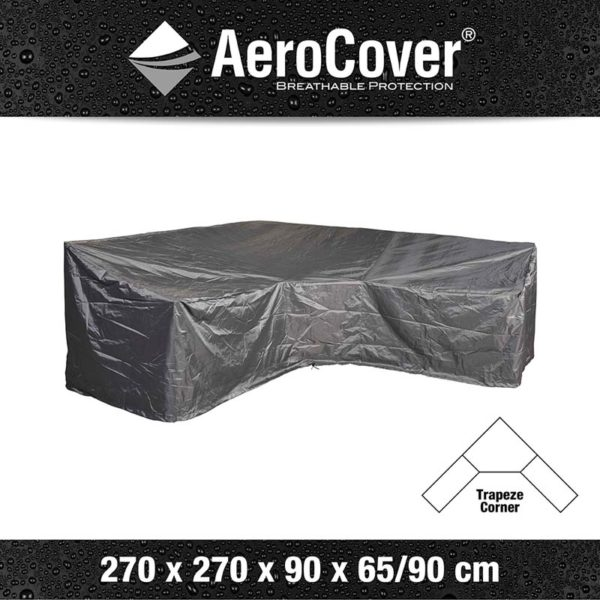 Aerocover Lounge-Dininghoes Trapeze 270x270x90xH65/90 7956