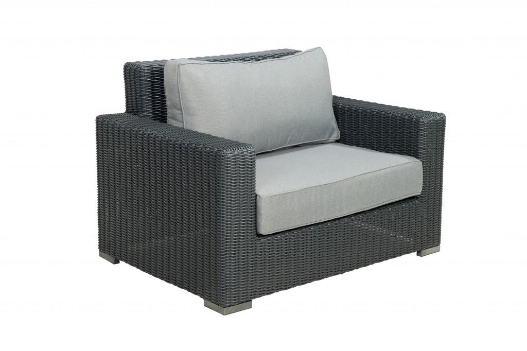 Port Augusta lounge chair Mystic grey Beach 7