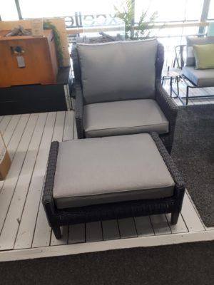 Beach7 Loungechair Rituals 1,5 zits + Footstool