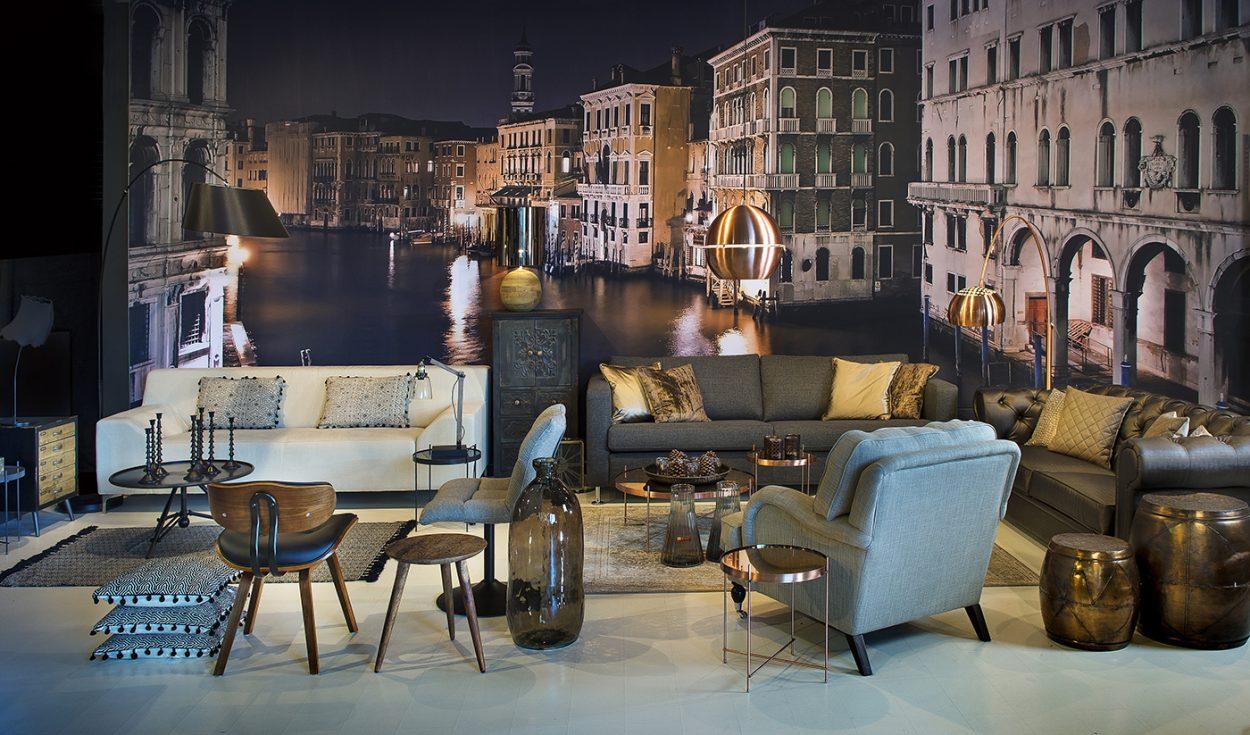 Glossy, Urban wonen met het bruisende Venetië als inspirator.