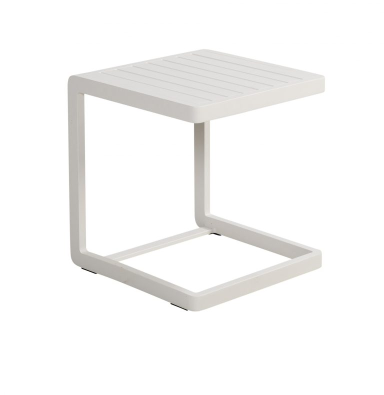 Beach 7 Beatle Sidetable White