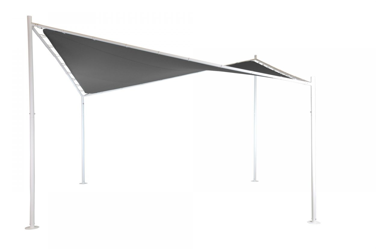 Beach 7 Butterfly Gazebo Paviljoen Mystic Grey
