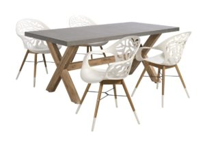 Beach 7 Tuinset Coral Reef Ramatuelle 5-delig White