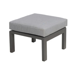 Beach 7 Hocker Beatle 54x54 cm Mystic Grey