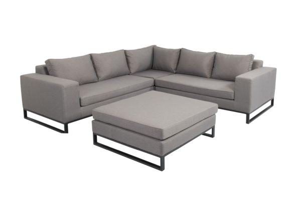 Beach 7 Blizzard Loungeset 4-delig Upholstery Stone Grey