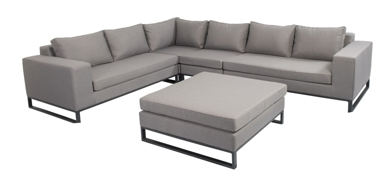 Beach 7 Blizzard Loungeset 5-delig XL Upholstery