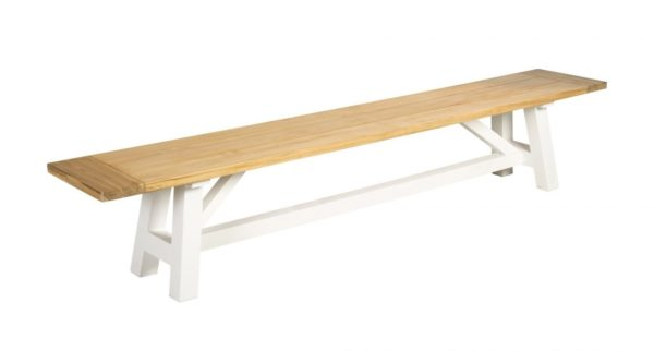 Beach 7 Sportbench Sunset 240 cm White