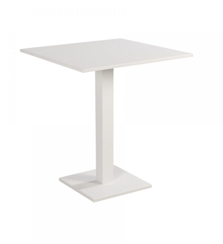 Beach 7 Tuintafel Beatle 70x70 cm White
