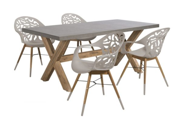 Beach 7 Coral Reef Ramatuelle Tuinset 5-delig Taupe