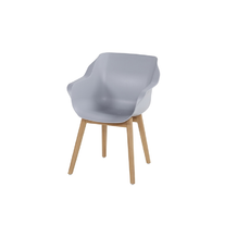Hartman Sophie teak armchair Naturel Misty Grey