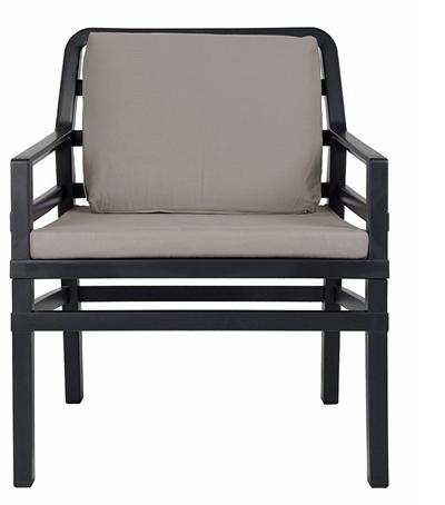 Nardi Loungechair Aria Antraciet-Grigio