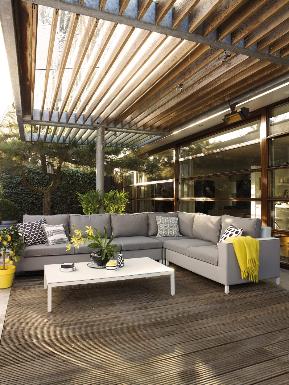 Suns Vales Loungeset 4-delig Taupe