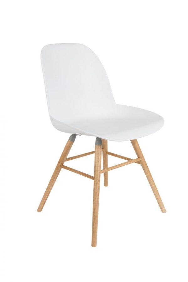Albert Kuip Chair Wit Zuiver - 10% korting bij 4 stoelen of meer