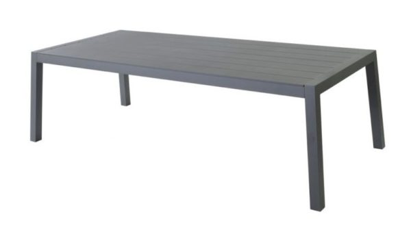 Max en Luuk Low Dining Tafel Mike Aluminium Antraciet