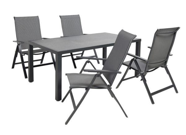 Beach 7 Tuinset Cobra + tafel 160x96 cm