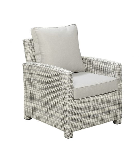 Beach 7 Loungechair Porto Alegre Scallop Wicker