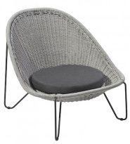 Borek Lounge Chair Pasturo Iron Grey