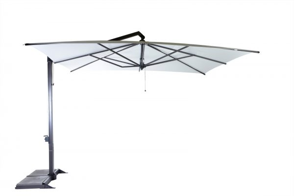 Borek Parasol Rodi 400x300 cm White