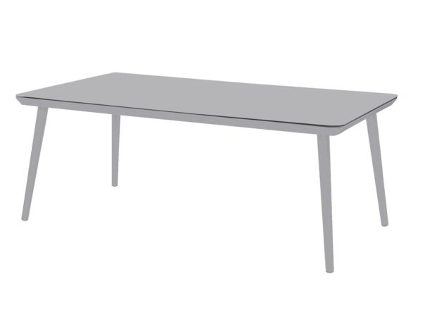 Hartman Tafel Sophie Studio 170x100 cm HPL Light Grey
