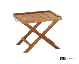 AppleBee Tray Table Robinson Smooth Teak