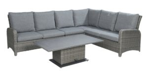Garden Deals Tuinset Soho Lounge Dining Coal Wicker