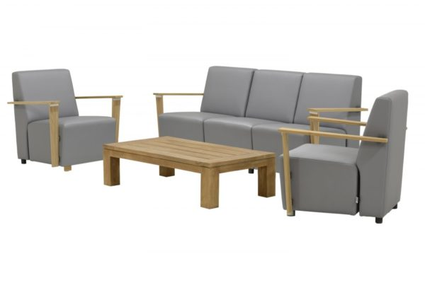 b&b outdoor Wilg set teak coffeetable