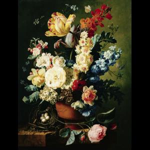 bloemen in vaas aluart
