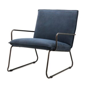 Eleonora delta fauteuil blauw