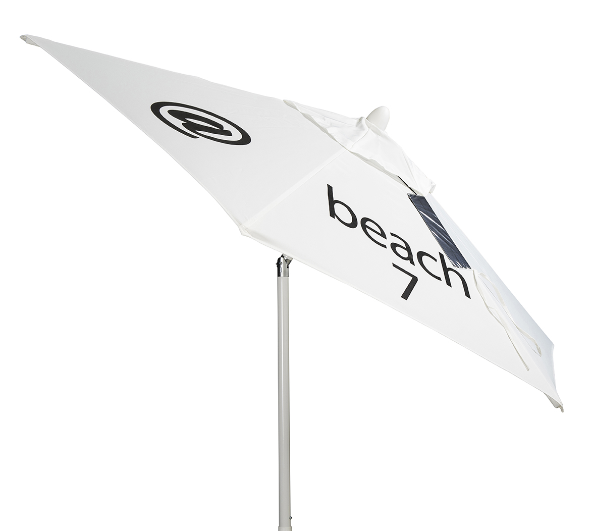 Beach 7 Parasol Poster 210 cm Inclusief Adaptar Stay Connected