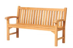 Traditional Teak Bank Victoria 155 cm