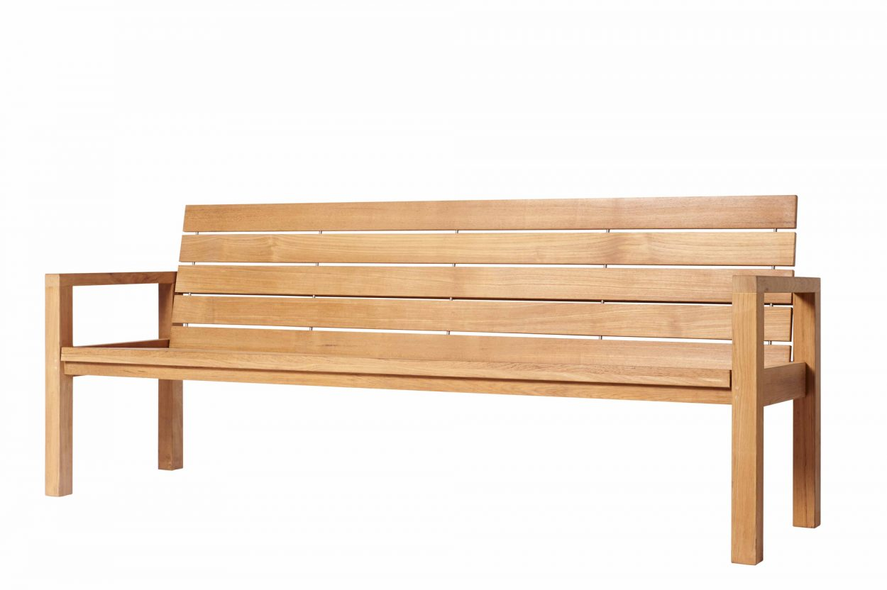 Traditional Teak Bench Maxima 215 cm