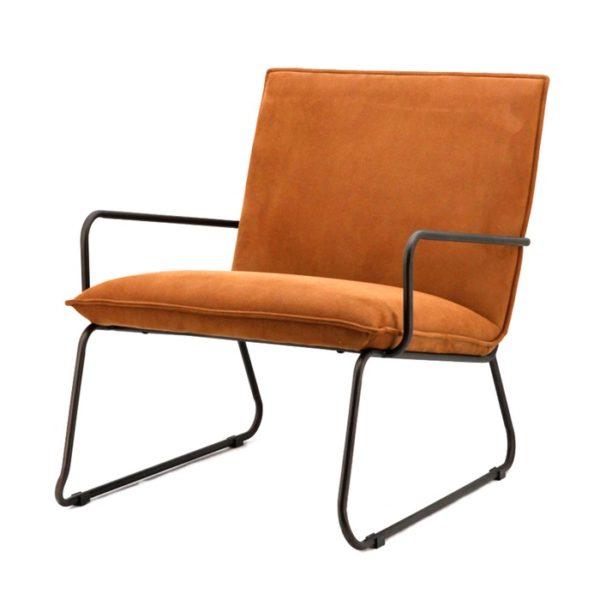 eleonora delta fauteuil cognac
