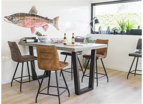 henders en hazel farmero bartafel 140 x 100 cm vivaldi xl zevenaar. Black Bedroom Furniture Sets. Home Design Ideas