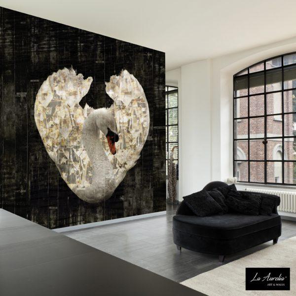 la Aurelia Royal wings wallpaper Dutch Dream collection