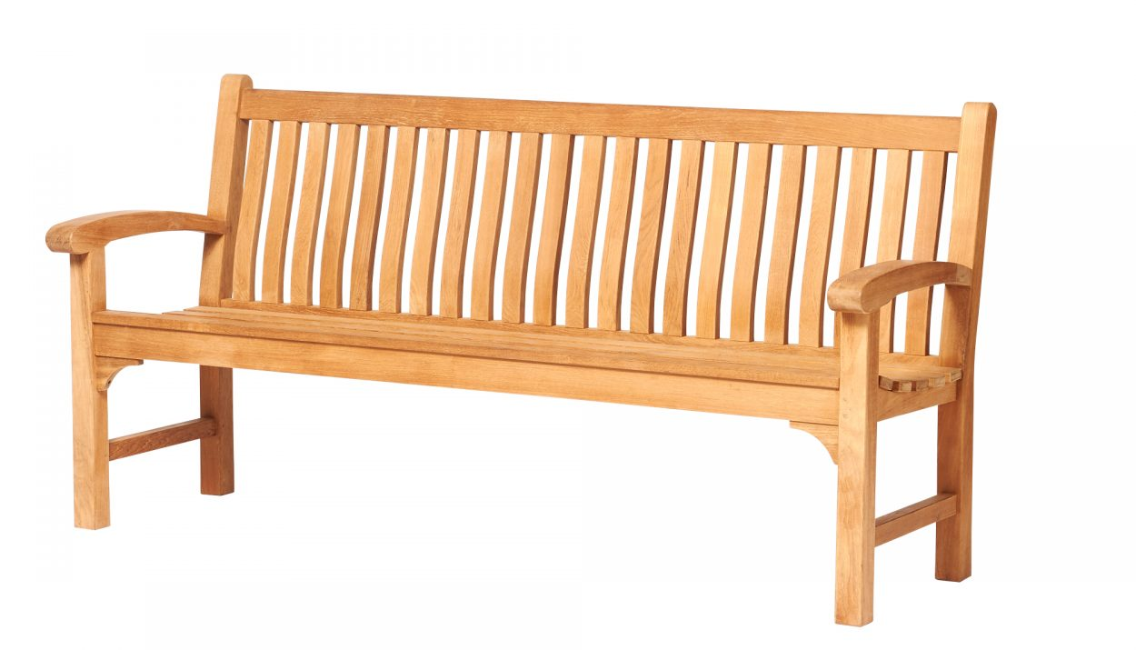 Traditional Teak Bank Victoria 185 cm