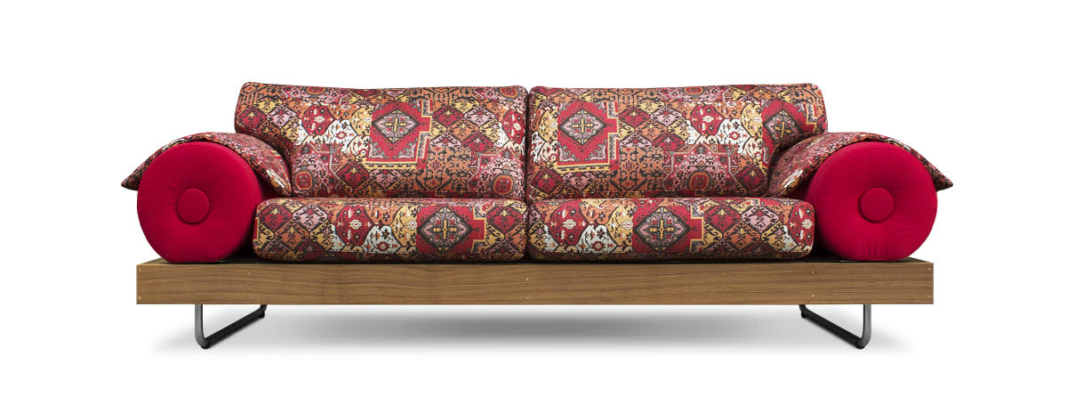 Casablanca Loungesofa Outdoor Terracotta