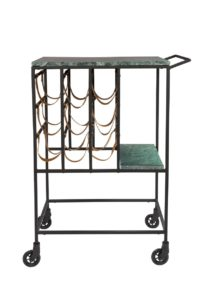 Dutchbone Mil serving trolley