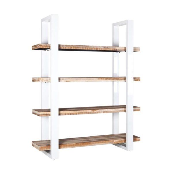 Eleonora Mango boekenkast wit 160 cm