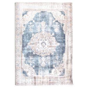 By boo Florence vloerkleed 160 x 230 cm beige-blauw