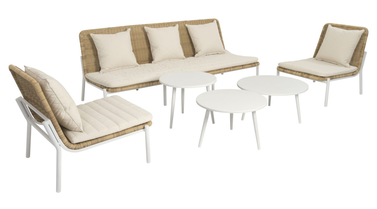 Beach 7 Loungeset Amigo Nature 6-Delig