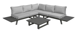 Beach 7 Loungeset Bel Air Platform Mystic Grey