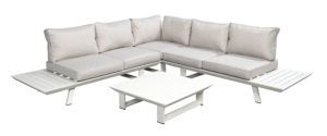 Beach 7 Bel Air Loungeset Platform White